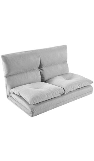Merax PP036318AAA Foldable Floor Couch and Sofa for Living Room and Bedroom, Gray for Sale in Long Beach, CA