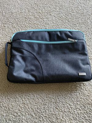 MOSISO Polyester Fabric Sleeve Case Cover Laptop Shoulder Briefcase Bag for Sale in Miramar, FL