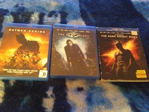Set of 3 Batman Blu-rays for Sale in Bradley, IL