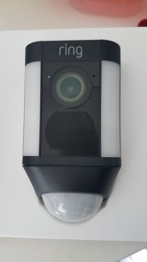 Ring spotlight security camera for Sale in HALNDLE BCH, FL