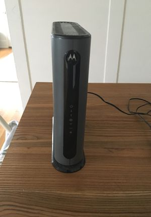 Motorola MG7540 modem and router for Sale in San Diego, CA
