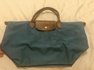 LONGCHAMP Medium Blue Nylon Tote Bag for Sale in Washington, DC