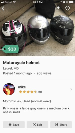 Motorcycle helmets for Sale in Laurel, MD