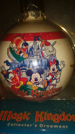 Magic kingdom collection Christmas ball for Sale in Snellville, GA