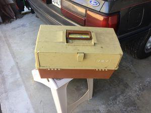 Medium fishing tackle box for Sale in La Mesa, CA