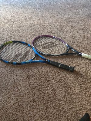 2 two tennis rackets for Sale in Bremerton, WA