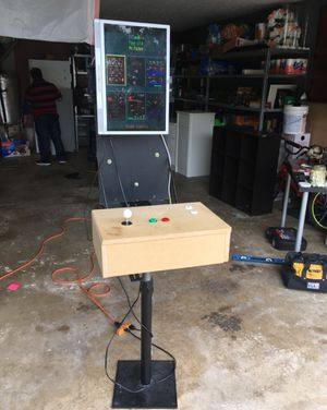 Custom 60 classic video Game arcade for Sale in Lawrenceville, GA