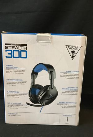 Turtle Beach Stealth 300 Amplified Gaming Headset for Sale in Santa Ana, CA