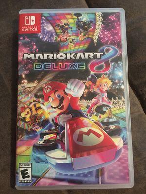 Mario Kart 8 Deluxe , Nintendo Switch for Sale in Sacramento, CA