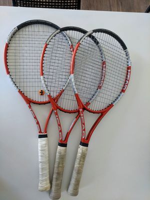 Head liquidmetal radical tennis rackets oversized - priced per racket, discount if bought together. for Sale in El Segundo, CA