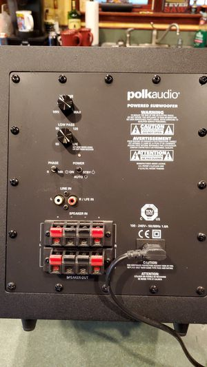 Polk audio powered subwoofer. for Sale in Cresco, PA