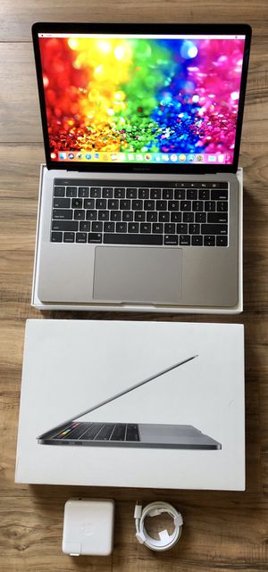 """May 2019 MacBook Pro 512GB SSD TouchBar Quad Core i5 Retina Display Apple faster than basic 2020 1.4GHz 13"""" for Sale in Los Angeles, CA"""