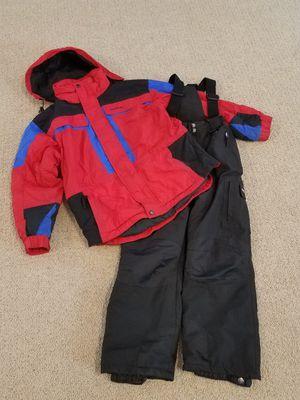 Snow clothes size 10 - 12 kids snow bib snow pants winter snow coat jacket for Sale in Gilbert, AZ