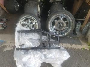 Fat tire kit for hayabusa and suzuki gsxr 1000 for Sale in Boston, MA