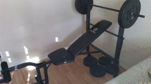 Marcy 100lb bench press for Sale in Katy, TX
