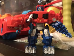 Transformers Rescue Bots Optimus Primal Used for S