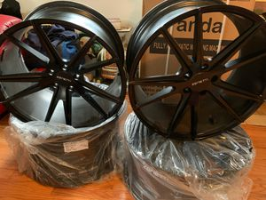 VENDO RINES MANCA ZENETI. ZAIZ 20X10.5. 20X9. ESTAN NUEVOS. 5X114.3 for Sale in UNIVERSITY PA, MD