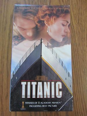 Titanic VHS Video for Sale in Howell Township, NJ