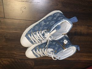 Blue louisvuitton shoes for Sale in Teaneck, NJ