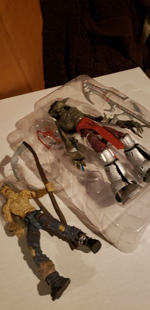 Lot of two Mcfarlane action figures for Sale in Fresno, CA