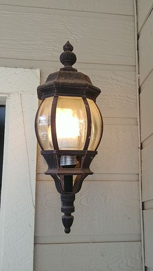 Outdoor porch light for Sale in Lakeside, AZ
