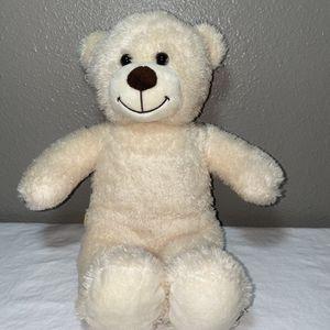 "Build A Bear 15"" Cream Ivory Beige Classic Teddy Bear Plush for Sale in Kirkland, WA"