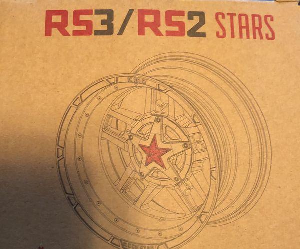XD827 Rockstar Insert Midspokes And Stars For 5 Tires