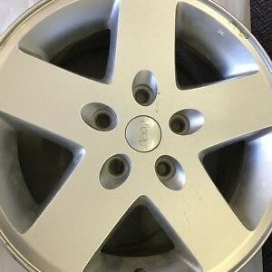 """17"""" Jeep OEM WHEELS , Set Of 5 Used Like New for Sale in Ontario, CA"""
