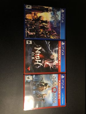 PS4 Game Bundle (LESS THAN GAMESTOP) for Sale in Pembroke Pines, FL