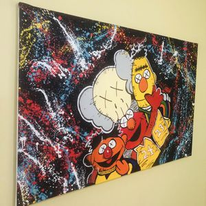 1 Of 1 Original Kaws Art Painting for Sale in Miami, FL