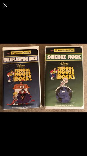 School House Rocks - VHS Tapes‼️ for Sale in US