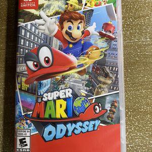 Mario Odyssey Nintendo Switch for Sale in Fresno, CA