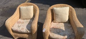 Beautiful wicker chairs for Sale in Fairfax Station, VA