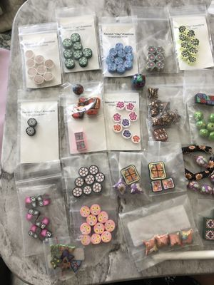 Polymer Clay Beads - 250+ for Sale in El Paso, NM
