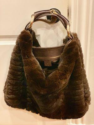 Gucci Rabbit fur Lg Horsebit Chain Hobo Bag for Sale in Dallas, TX