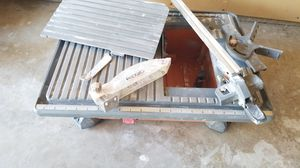 Rigid tile saw for Sale in Bakersfield, CA