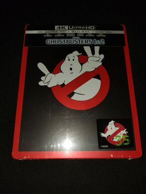 *NEW* Ghostbusters 1&2 4K UHD/HDR Bluray (35th Anniversary Steelbook) for Sale in Spring, TX