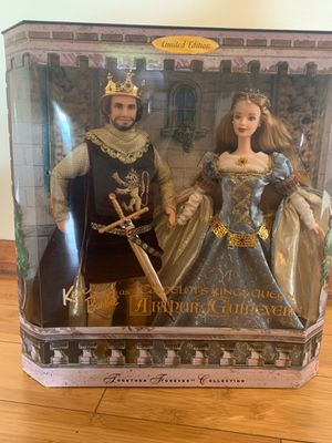 Barbie Romeo & Juliet and Guinevere & Auther for Sale in Lynwood, CA