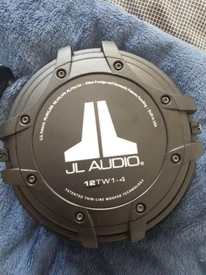 12TW1-4 JL Audio Shallow Thin-Line Subwoofers for Sale in Anaheim, CA