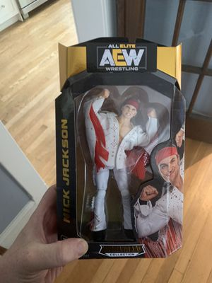 Nick Jackson of The Young Bucks AEW Action Figure (Brand New) for Sale in Washington, DC