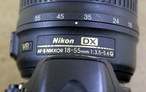 Nikon D3200 24.2MP Digital SLR Camera With Nikkor 18-55mm Lens