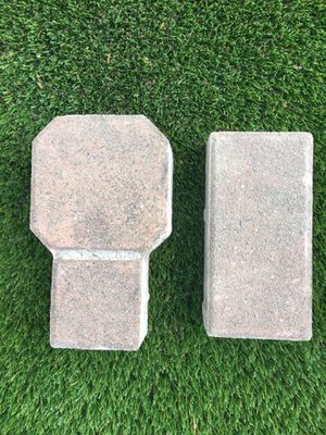 Concrete tan pavers. 175 octagon. 80 rectangle. Priced at Home Depot $1.55 ea. octagon and $.58 rectangle. for Sale in Bothell, WA