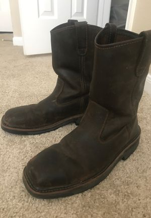 Steel Toe Work Boots 8.5 for Sale in Richardson, TX