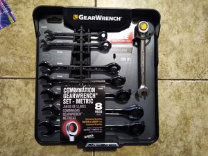 Gearwrench Ratcheting End wrenches for Sale in Bakersfield, CA