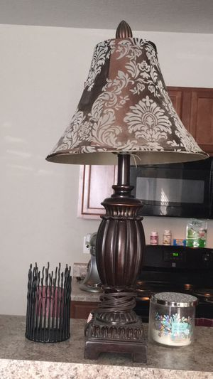 2 lamps and shades for Sale in Columbus, OH