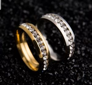 His and Her Wedding Simulated Diamond Bands Size 6,7,8,9,10,11,12 for Sale in Aspen Hill, MD