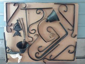 Old Wall Hanging Hooks, Bells and Knockers for Sale in Washington, IL