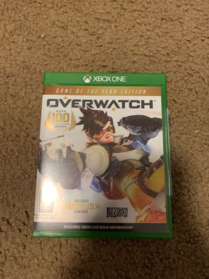OVERWATCH Xbox One for Sale in Huntington Beach, CA
