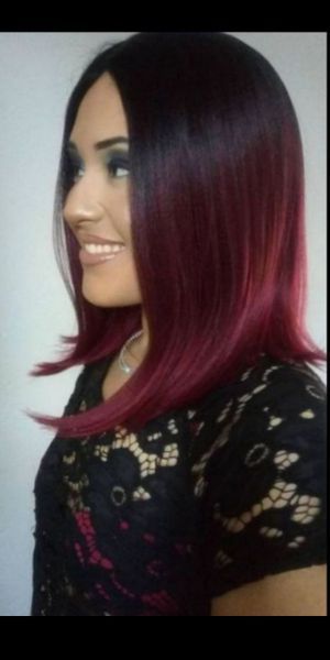 Synthetic Hair wig Pre-tweezed part brand new / peluca en Cherry nueva for Sale in Fullerton, CA