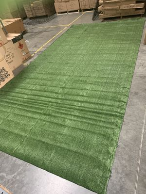 New 13ft x 6.6 ft thin artificial mat without fluffy grass outdoor indoor for Sale in Ontario, CA